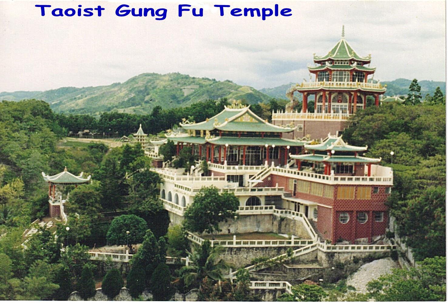 in 1985  1986  1987 Hollywood Hills Cebu City Taoist Temple of VirtueChina Mountain Temple